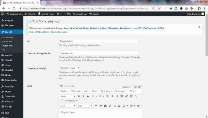 Cách-tạo-category-trong-wordpress
