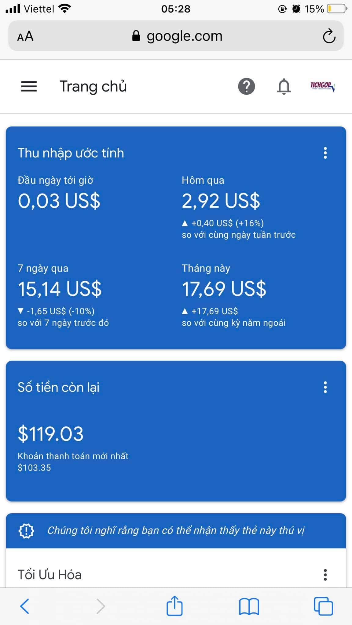 Google Adsen là một nguồn thu nhập thụ động đáng kể